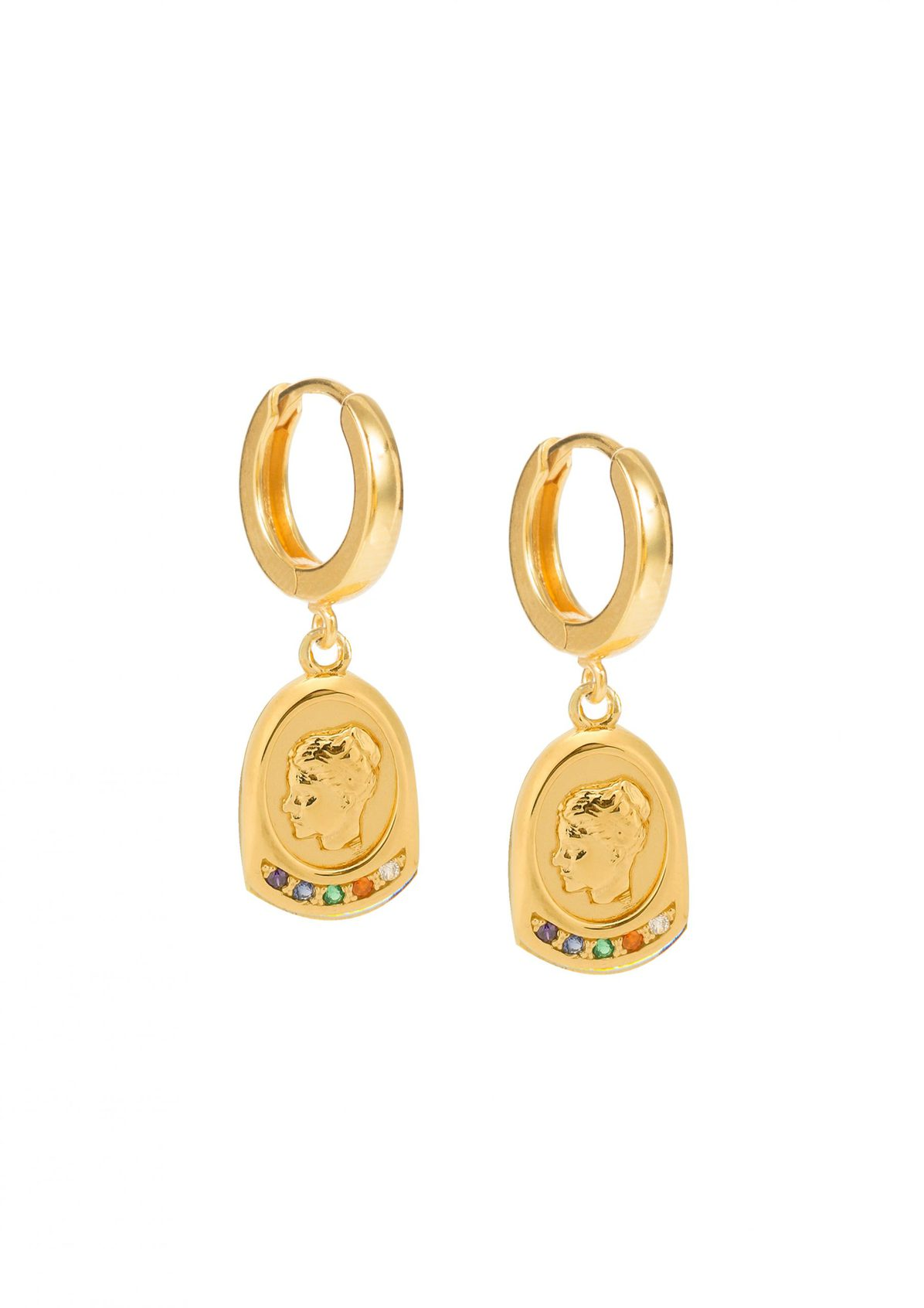 HYGEIA SLIP ON EARRINGS