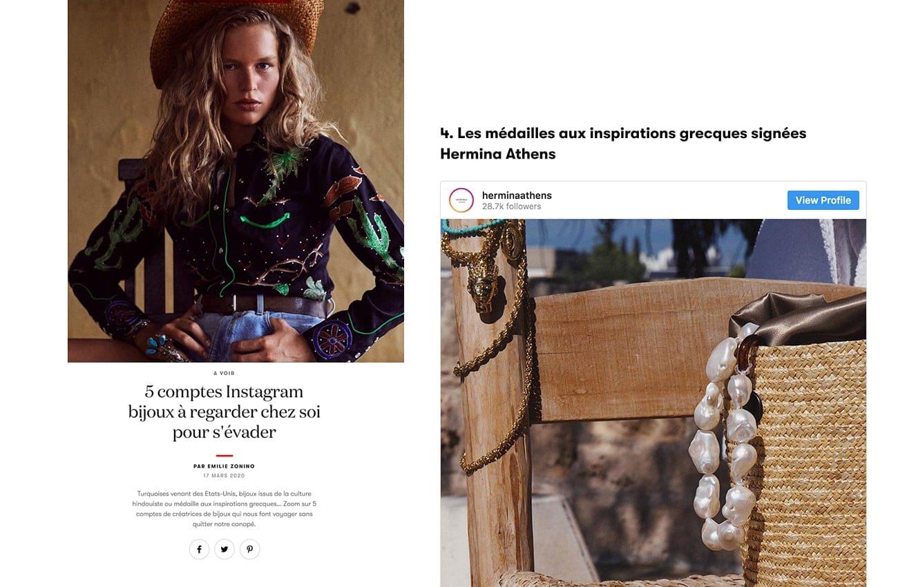 Vogue.fr March 2020