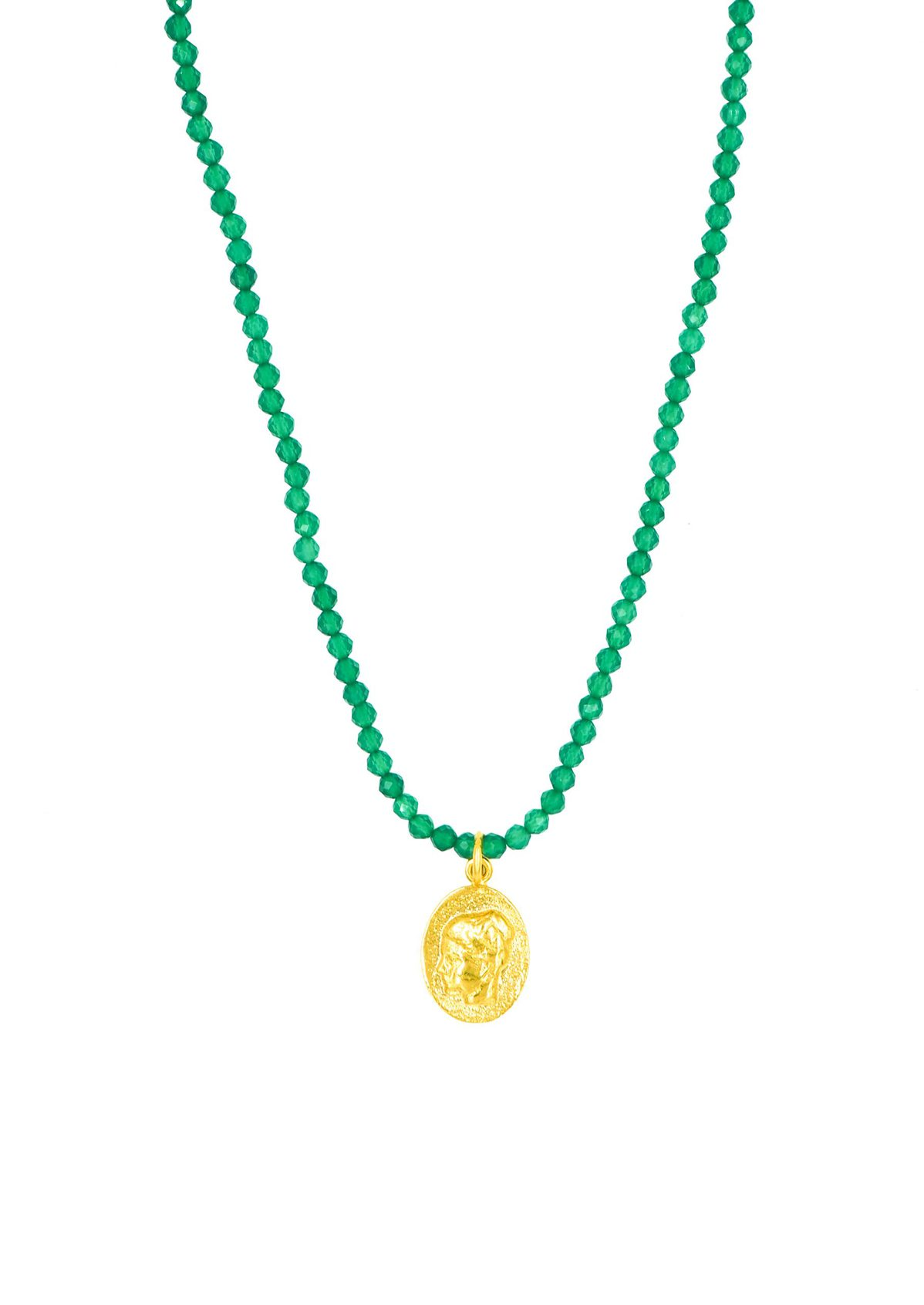 YGEIA EMERALD NECKLACE