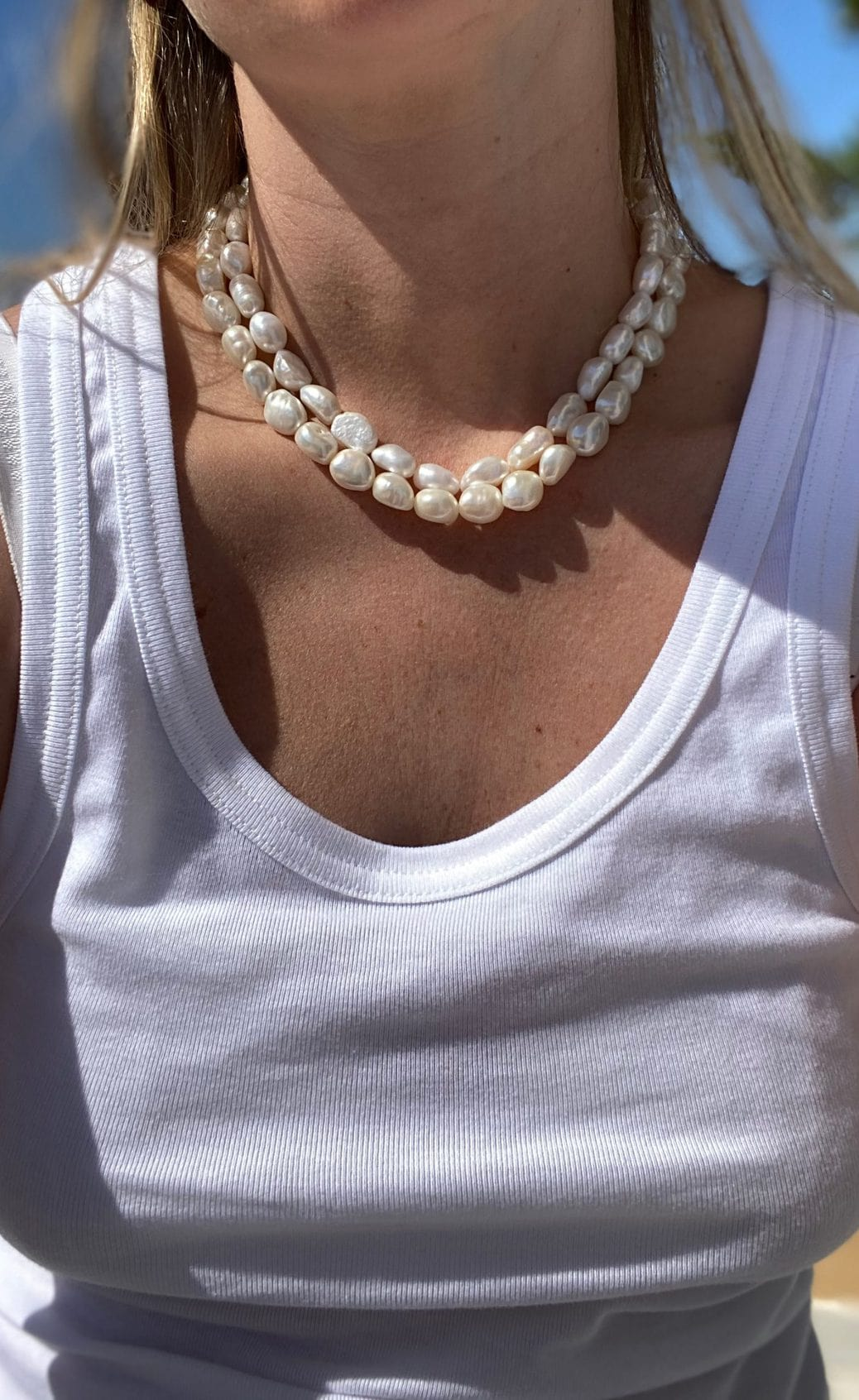 vilmVILMA PEARL NECKLACE