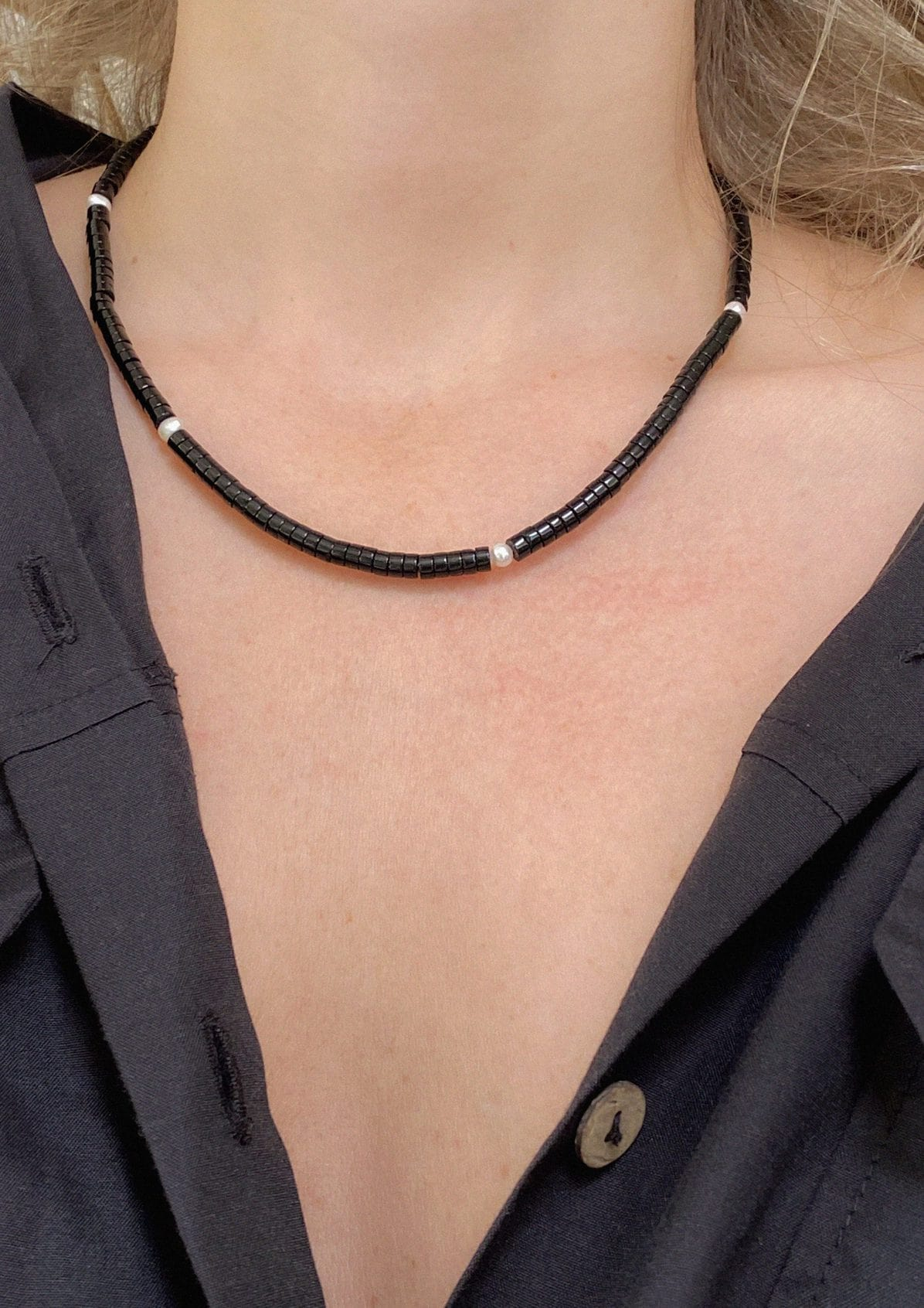 BREAKFAST AT TIFFANY'S NECKLACE - HERMINA ATHENS X STYLELOVE COLLECTION