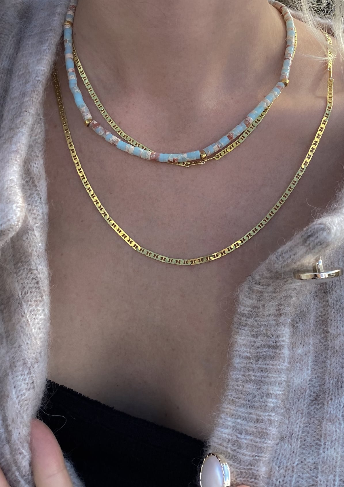 THERE'S SOMETHING ABOUT MARY NECKLACE - HERMINA ATHENS X STYLELOVE COLLECTION