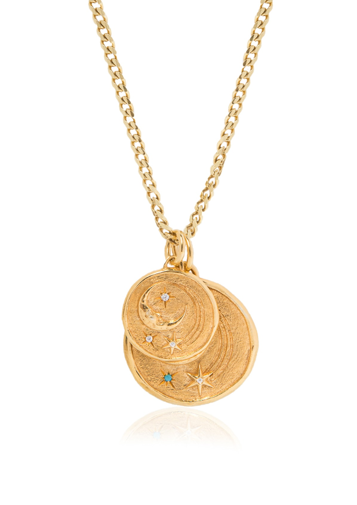 LUNA SMALL & LARGE ANCHOR NECKLACE