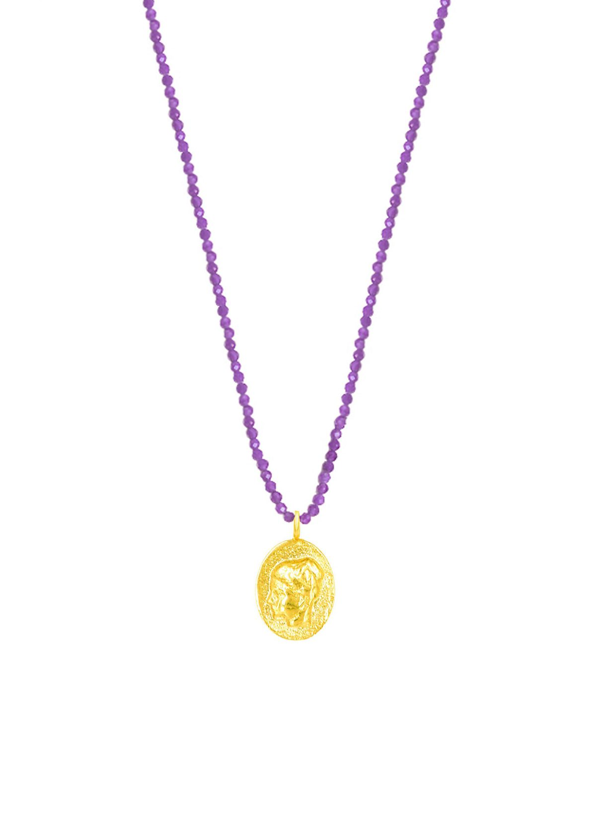 HYGIEIA PURPLE NECKLACE